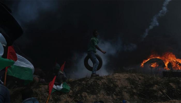 गाजा में हिंसा के लिए अमेरिका ने हमास को बताया जिम्मेदार, इजरायली गोलीबारी में गई थी 55 की जान