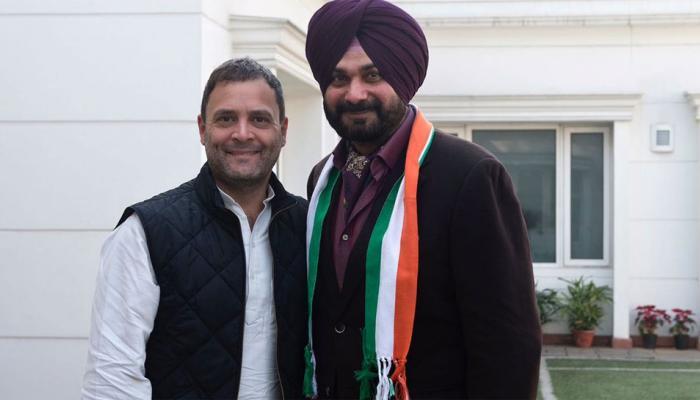 जब तक मेरे अंदर लहू है, राहुल भाई के साथ खड़ा रहूंगा : नवजोत सिंह सिद्धू