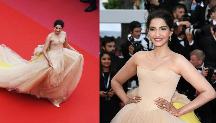 sonam kapoor second day look on cannes film festival 2018, view pics