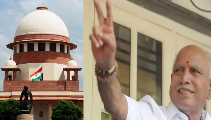 SC का येदियुरप्पा के शपथ ग्रहण पर रोक लगाने से इनकार, BJP को पेश करनी होगी MLA की लिस्ट