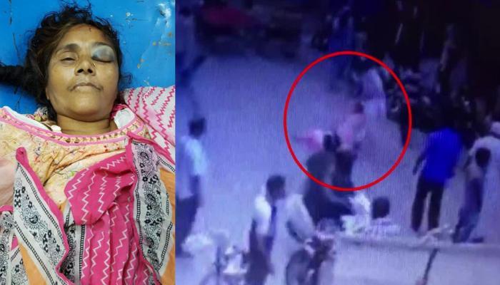 VIDEO: दिल्ली में सरेआम रॉड और बेसबॉल बैट से महिला की पिटाई, हुई मौत