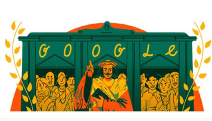 बह्म समाज के संस्थापक राजा राममोहन राय की याद में Google ने सजाया Doodle