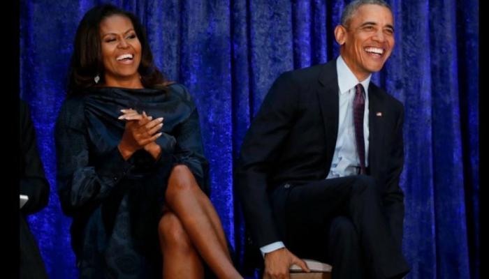 बराक ओबामा पत्नी मिशेल के साथ बनाएंगे फिल्में, नेटफ्लिक्स के साथ किया करार