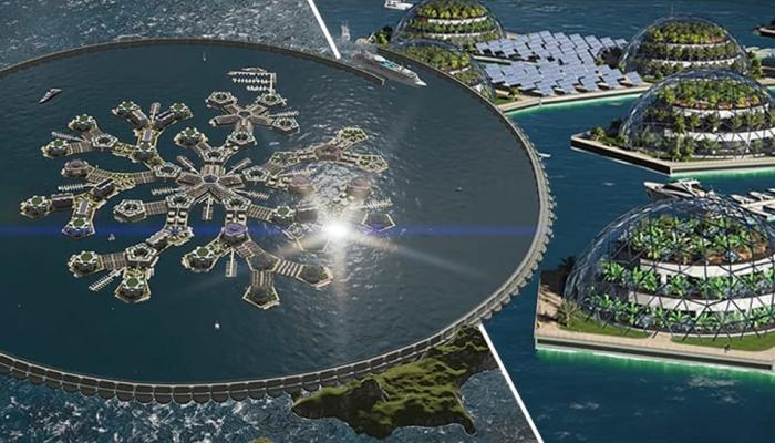 World's first 'floating city' is taking shape in the Pacific Ocean
