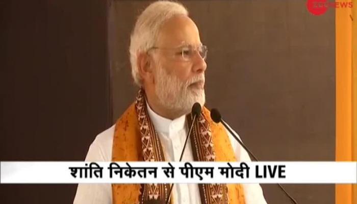 pm narendra modi in visva bharti university convocation kolkata