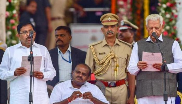कर्नाटक में स्पीकर पद के लिए मुकाबला कुछ देर में, कांग्रेस और बीजेपी ने झोंकी ताकत