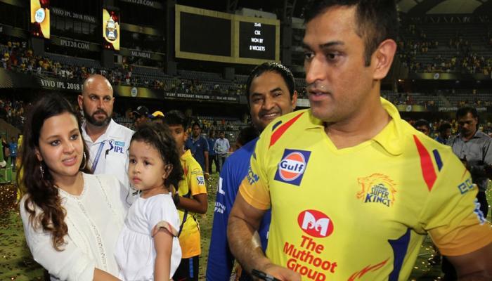 'जीवा को IPL 2018 ट्रॉफी की कोई फिक्र नहीं, उसे तो बस भागना है'