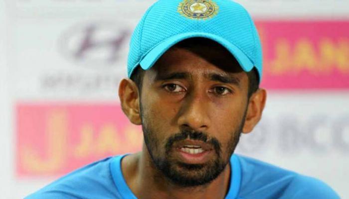 अफगानिस्तान टेस्ट से पहले टीम इंडिया को झटका, ऋद्धिमान साहा हुए चोटिल