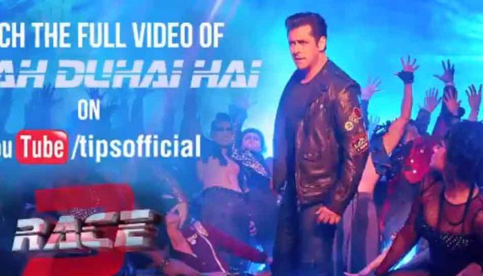 VIDEO: 'रेस 3' के नए गाने नशा का टीजर हुआ रिलीज, डांस फ्लोर पर आग लगाते दिखे सलमान खान