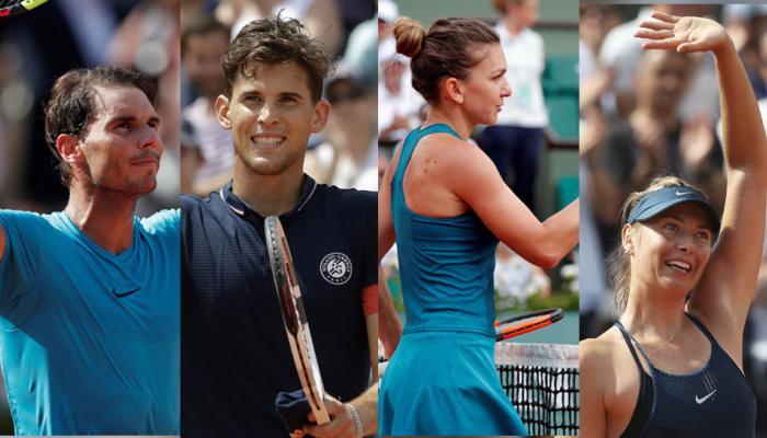 French Open : marin cilic, Rafael Nadal, Simon Halep and Maria Sharapova enter III round