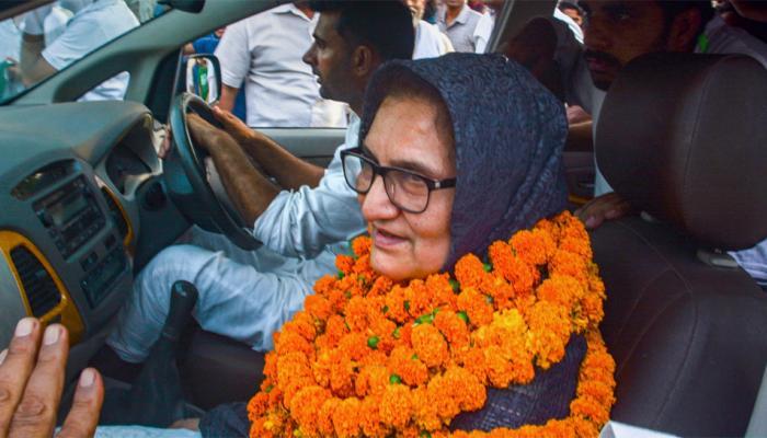 कैराना में भाजपा को चित करने वालीं तबस्सुम हसन को अपने बेटे की सीट पर मिली करारी हार