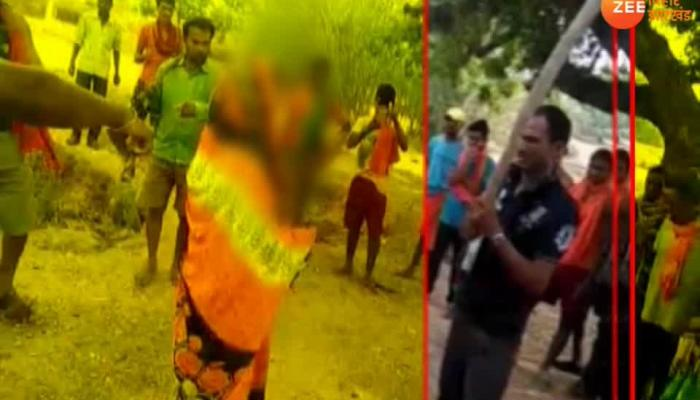 Women beaten publically by dabang people