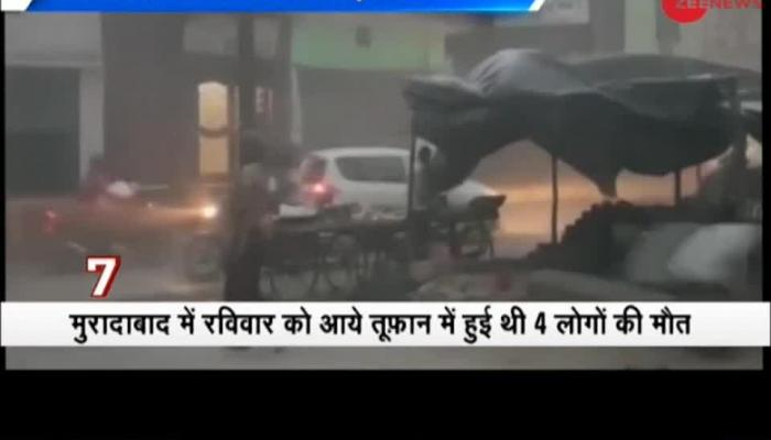 Morning Breaking: MeT Department issues thunderstorm warning for 17 states including Delhi, UP