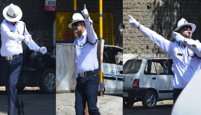 NRI ONLY: Chandigarh Police SI slaps moonwalking traffic constable Rakesh Kumar
