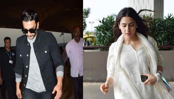 हैदराबाद पहुंचे रणवीर सिंह और सारा अली खान, आज से शुरू करेंगे 'सिम्बा' की शूटिंग