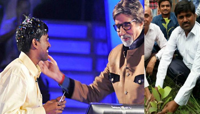 चंपारण में लगाए गए सवा लाख चंपा के पौधे, केबीसी विनर सुशील कुमार ने शुरू किया अभियान
