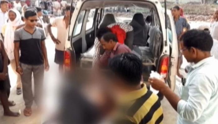 भागलपुरः ट्रक और ऑटो की भीषण टक्कर, 5 लोगों की मौत