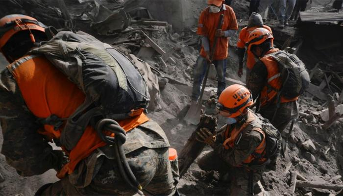 ग्वाटेमाला ज्वालामुखी: भीषण विस्फोट में मरने वालों की संख्या 99 पहुंची, 28 शवों की हुई पहचान