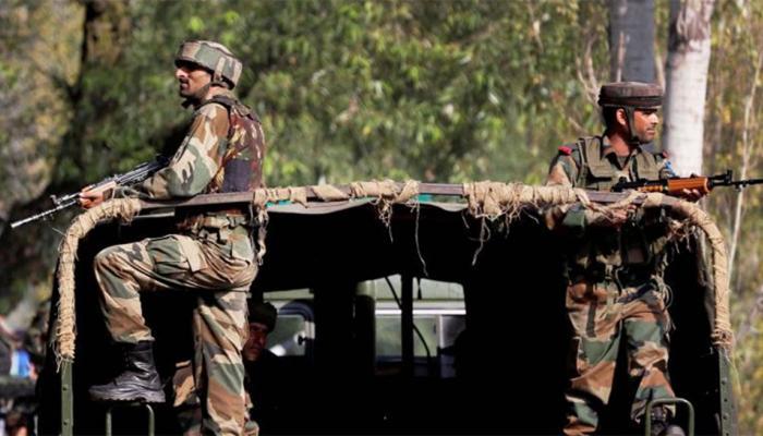 कुपवाड़ा में गृहमंत्री राजनाथ सिंह के दौरे से पहले सेना की पेट्रोलिंग पार्टी पर आतंकी हमला