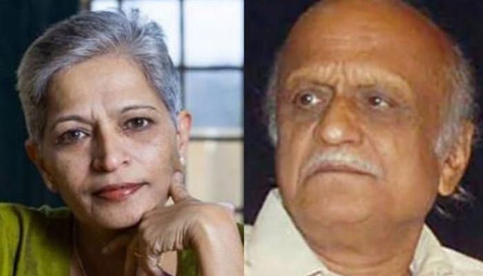 India Today: Gauri lankesh and MM kalburgi killed with same gun, says forensic report