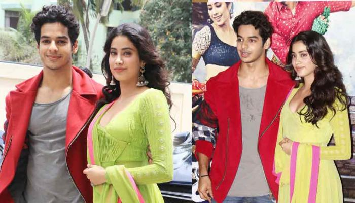 family come to support jhanvi during her first movie dhadak trailer launch