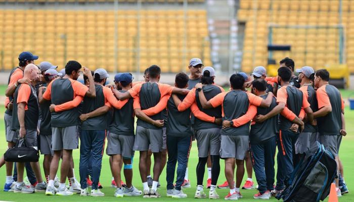 New training colours for Team India