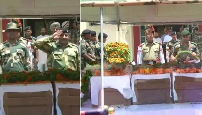 जम्मू-कश्मीर: PAK ने फिर किया सीजफायर उल्लंघन, BSF के 4 जवान शहीद, 3 अन्य घायल