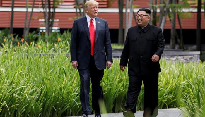 सिंगापुर में मीटिंग के बाद अमेरिका बोला, उत्तर कोरिया 2020 तक परमाणु हथियारों को खत्म करे
