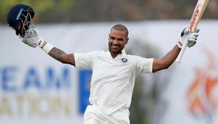 शिखर धवन ने किया कमाल, पहले सत्र में शतक लगाने वाले पहले भारतीय बने