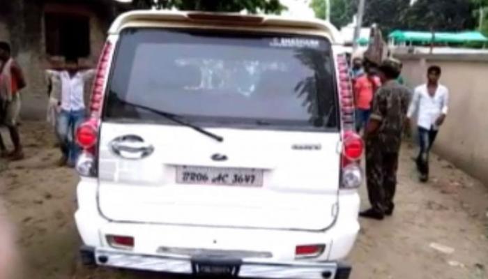 वाहन चेकिंग के दौरान पुलिस-अपराधियों में मुठभेड़, पुलिस की गाड़ी भी ले गए साथ
