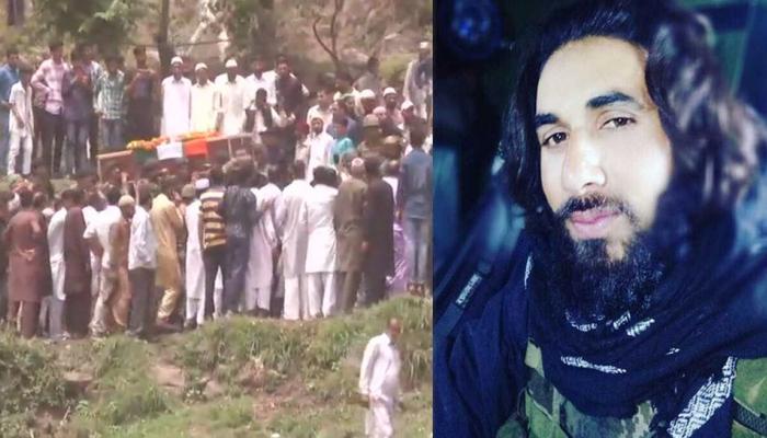 martyr Aurangzeb body reaches village last rites funeral people gets emotional