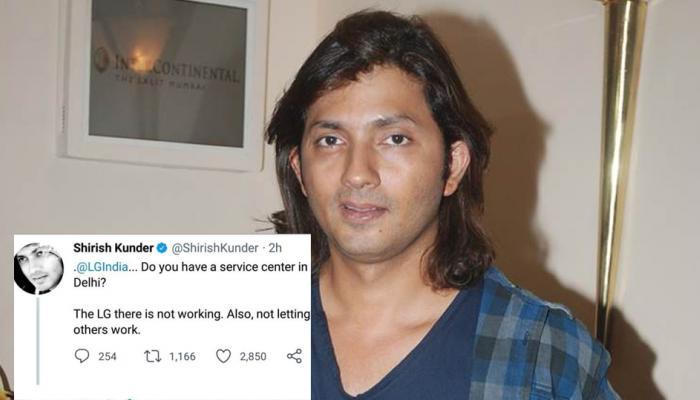 शिरीष कुंदर ने किया ट्वीट, 'LG दिल्ली में काम नहीं कर रहा', कंपनी ने दिया ये जवाब