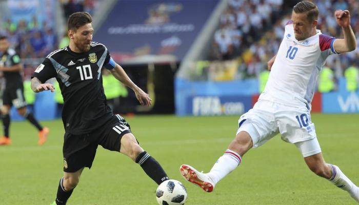 फीफा विश्व कप: आइसलैंड के गोलकीपर ने अर्जेंटीना को रखा जीत से महरूम, मेसी पर भारी पड़े हेंस