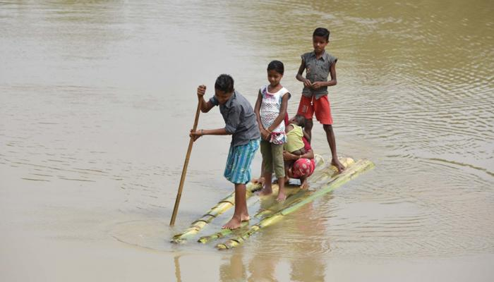 असम को छोड़कर पूर्वोत्तर के अन्य राज्यों में बाढ़ की स्थिति में सुधार
