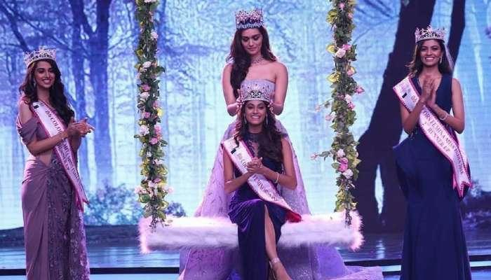 तमिलनाडु की अनुकृति वास ने जीता मिस इंडिया का खिताब, मिस वर्ल्ड मानुषी छिल्लर ने पहनाया ताज