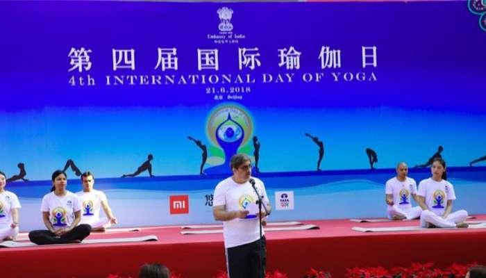 भारत और चीन के बीच योग कर रहा है सेतु का काम: गौतम बंबावाले