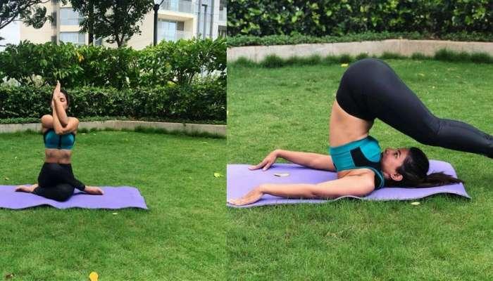 हिना खान ने योग करते हुए किया फोटो पोस्ट, ट्रोलर ने कहा- नमाज पढ़ो, अल्लाह खुश होंगे