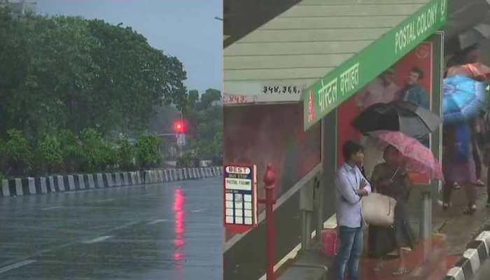 बारिश के बाद मुंबई के लोगों को मिली गर्मी से राहत, खूबसूरत हुआ शहर का नजारा