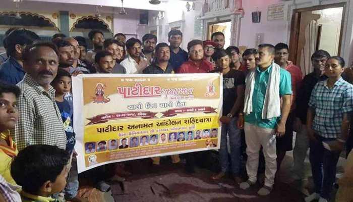 हार्दिक पटेल को चुनौती देने के लिए PAAS के दिलीप साबवा गुट ने शुरू की 'शहीद यात्रा'