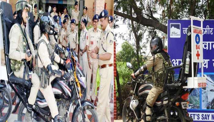 अमरनाथ यात्रा: CRPF का स्पेशल बाइक स्क्वाड, हेलमेट में लगे कैमरे से होगी निगाहबानी