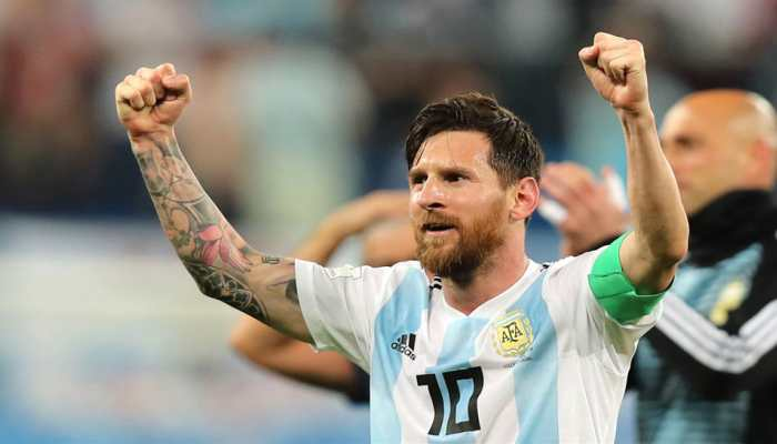 FIFA World Cup 2018 : Lionel Messi sets World Cup record with stunning goal for Argentina against Nigeria