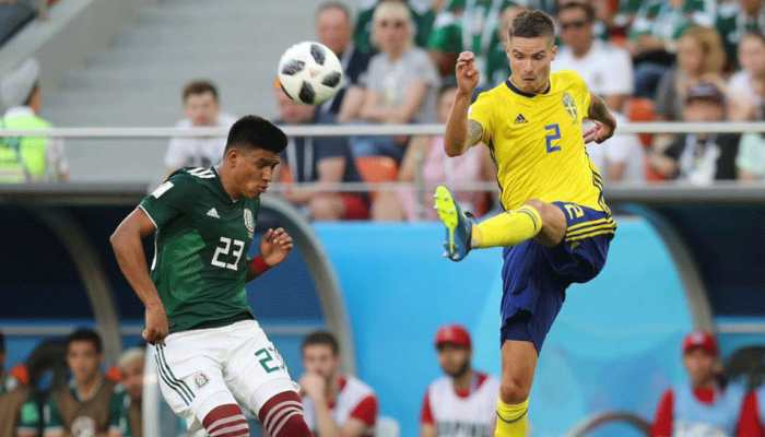 फीफा विश्व कप : मेक्सिको को 3-0 से हराकर स्वीडन नॉकआउट में