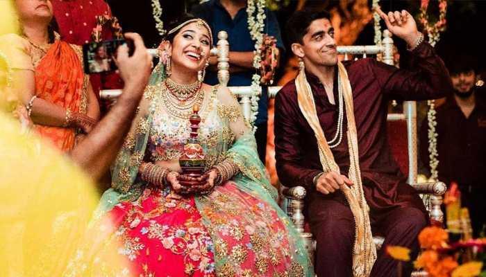 Masaan Actress Shweta Tripathi tied the knot with rapper boyfriend Chaitnya Sharma