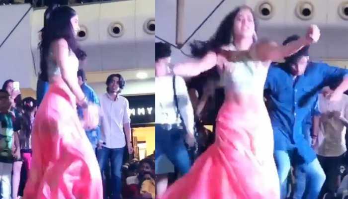 VIDEO: जाह्नवी कपूर ने स्टेज पर किया ऐसा डांस, तालियों और सीटियों से गूंज उठा पूरा माहौल