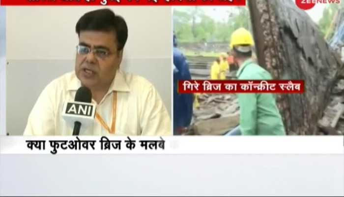Andheri Footover Collapse: Trains in western suburban section diverted