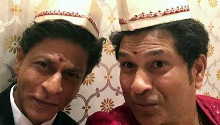 बॉलीवुड के किंग शाहरुख खान ने आकाश अंबानी की इंगेजमेंट पार्टी में मचाया धमाल, देखें Video