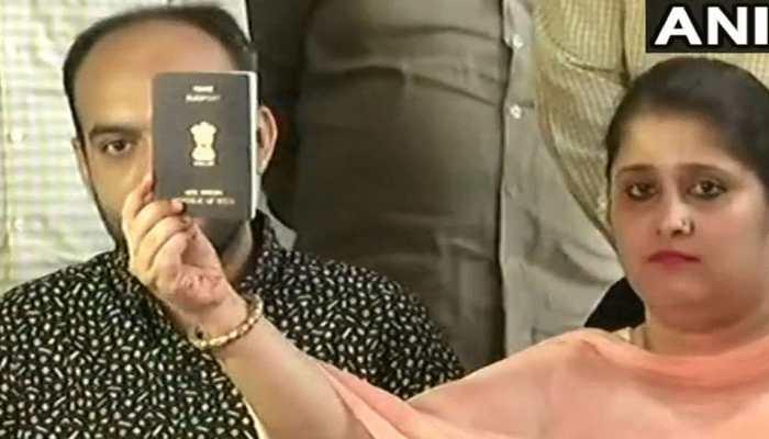 पासपोर्ट विवाद का हुआ अंत, तन्वी-अनस को मिला क्लीयरेंस