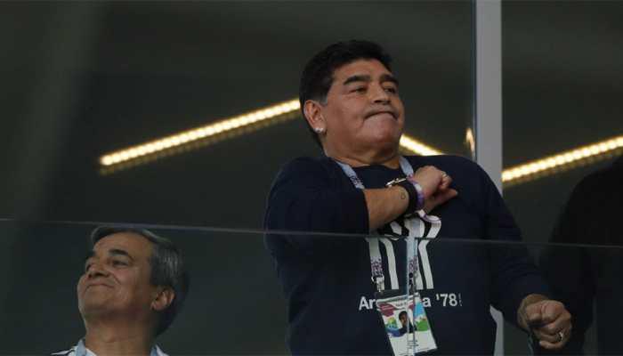इस टीम को फीफा वर्ल्ड कप जीतते देख रहे हैं महान फुटबॉलर माराडोना
