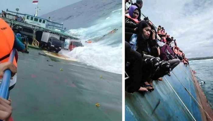 इंडोनेशिया : नौका दुर्घटना में 34 लोगों की मौत, 155 यात्री बचाए गए