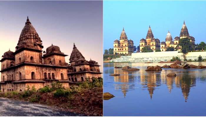 temple city Orchha is best place for monsoon travel Madhya Pradesh
